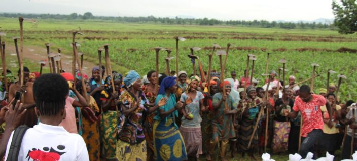 Descente de la Fondation Umutima à la population de Rubirizi et Maramvya
